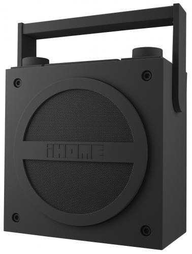Ihome Ibt4Gc Bluetooth Rechargeable Boombox With Fm Radio (Gray)