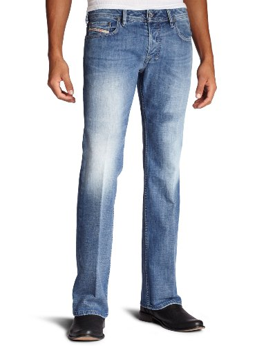 Diesel Men's Zatiny Slim Micro Bootcut Leg Jean 008AT from Diesel