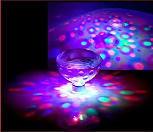 Victsing Underwater LED Float Floating Disco Ball Party AquaGlow Light Show Pond Pool Spa Hot Tub Lights from VicTsing