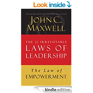 the 21 irrefutable laws of john The 21 irrefutable laws of leadership: follow them and people will follow you by john c maxwell thomas nelson publishers, august 1998 231 pages, hardcover.