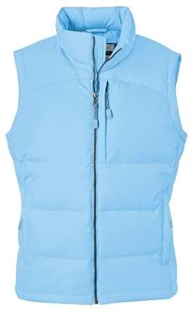 Ash City Ladies' Down Vest, Winter Blue, XXL