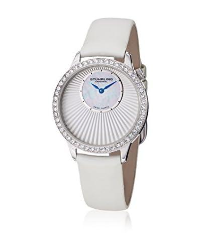 Stuhrling Original Reloj con movimiento cuarzo suizo Woman Blanco / Blanco 34.0 mm