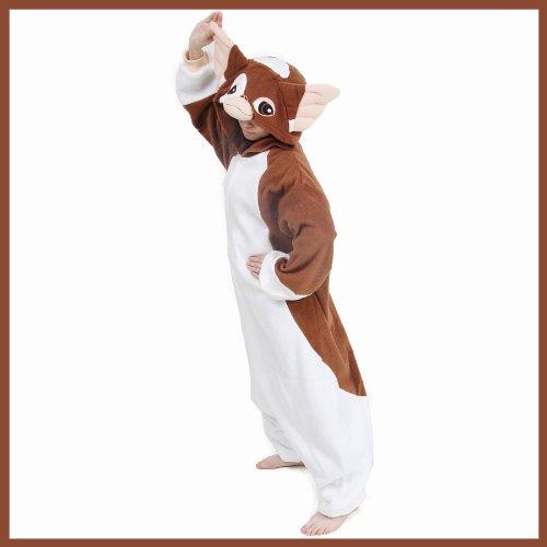 The Official Sazac Original Kigurumi Gizmo Gremlins Fancy Dress Gizmo Cosplay Pajamas Halloween Costumes