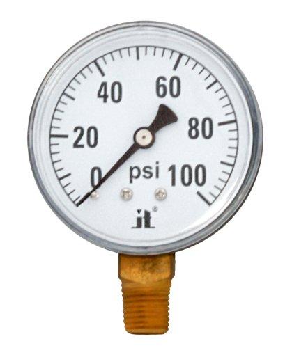 Zenport DPG100 Zen-Tek Dry Air Pressure Gauge, 100 PSI