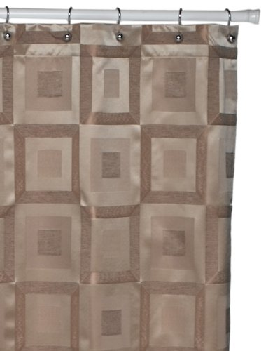 Croscill Metro Shower Curtain, Bronze