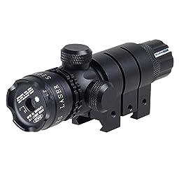 Sunvp Tactical Red Dot Beam Laser Gun Sight 532nm Suit for Handgun Air Gun Rifle
