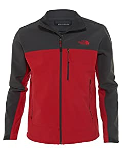 The North Face Apex Bionic Jacket Mens TNF Red/Asphalt Grey XL by The North Face