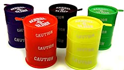 Gifts Online Set Of 5 Big Size Barrel O Slimes- 7.5 cm Per Barrel