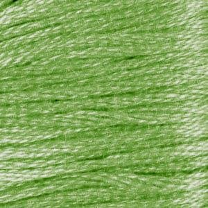 DMC (3348) Six Strand Embroidery Cotton 8.7 Yard Lt. Yellow Green By The Each
