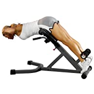 XMark 45 Degree Ab Back Hyperextension Roman Chair XM-4428 (Gray or White)