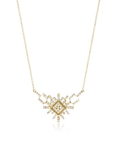 Chloe & Theodora Pavé Deco Necklace As You See