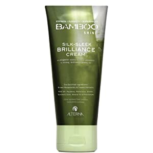 Alterna Bamboo Shine Silk-Sleek Brilliance Cream for Unisex, 4.2 Ounce