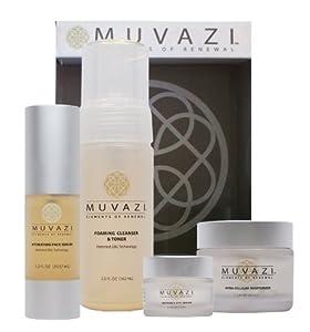 MUVAZI Anti Aging Skin Care Set with Oat Beta Glucan