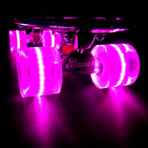 Led Light Up Plastic Skateboard Sunset Flare Princess
