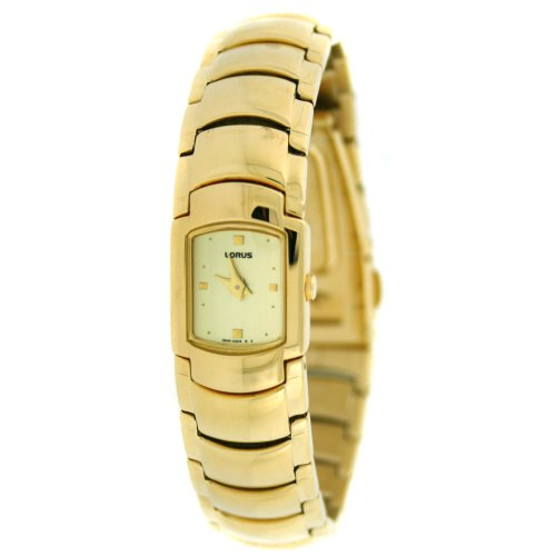 Lorus Gold Tone Ladies Watch Gold Dial REG64BX9