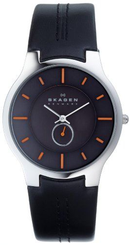Skagen Gents Watch Slimline Leather 433XLSLBMO