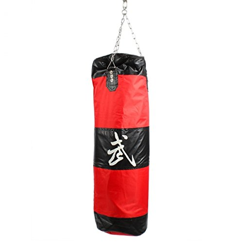 90Cm Zooboo Boxing Hanging Hollow Sand Bags Red And Black 24000568 front-689696