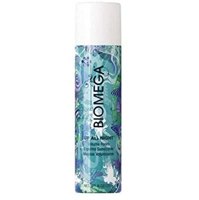 Aquage Biomega Up All Night Volume Foam Mousse for Unisex, 8 Ounce