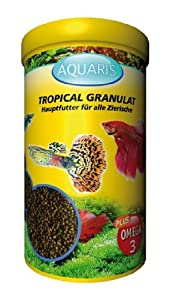AQUARIS TROPICAL GRANULAT - AQUARIUM FISCHFUTTER 250 ml
