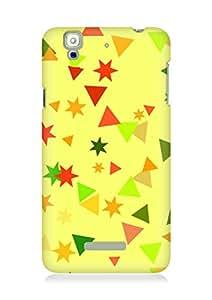 Amez designer printed 3d premium high quality back case cover for YU Yureka (Design Stars)