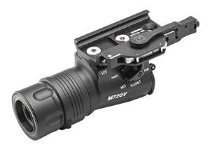 Surefire M720V RAID WeaponLight - High Intensity White & Infrared Tactical LED Flashlight 2011 Model (150 Lumens/240 mW) M720V-BK Black
