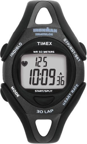 Timex Ironman T59751 Midsize 30-Lap Digital Fitness Heart Rate Monitor Watch