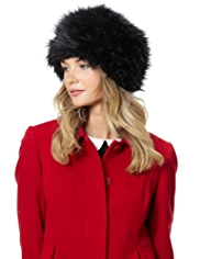 M&S Collection Faux Fur Cossack Hat