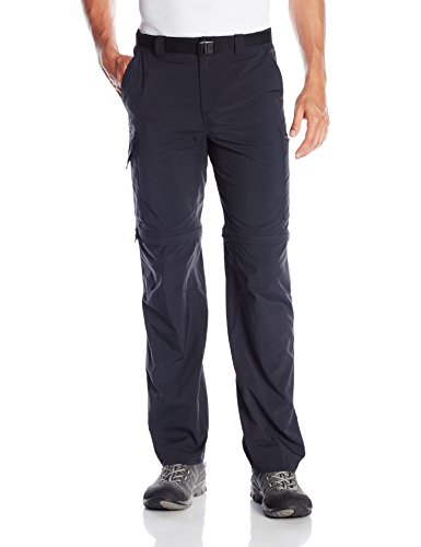 Columbia Men's Silver Ridge Convertible Pant, Black, 34 x 30-Inch (Columbia Zip Off Pants compare prices)