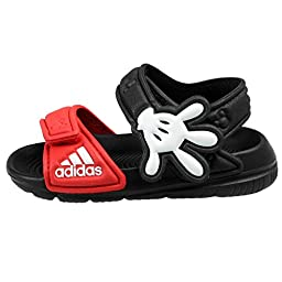 adidas Performance Disney Akwah 9 I Water Shoe (Toddler), Black/Vivid Red/White, 6 M US Toddler