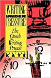 img - for Writing Under Pressure Publisher: Oxford University Press, USA book / textbook / text book