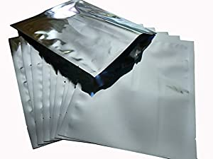 "20 - 1 Gallon Size (10""x14"") Mylar Bags for Long Term Food Storage"