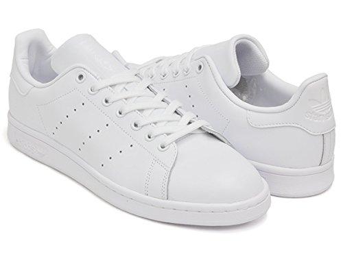 (アディダス) adidas STAN SMITH [スタンスミス] FTWWHT / FTWWHT / FTWWHT s75104 23.5(5H)US [並行輸入品]