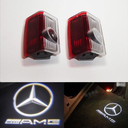 ベンツ LED AMG ロゴ カーテシ ランプ 純正交換 E-クラスW212 B-クラス/W246,W245 A クラス/W176,W169