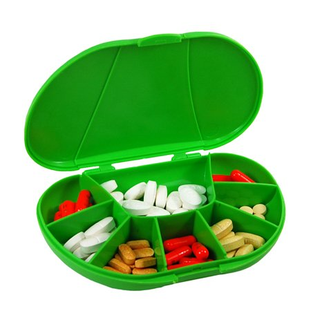 travel-size-vita-carry-8-compartment-pill-box-holds-up-to-150-pills-actual-size-60w-x-40d-x-12h-made