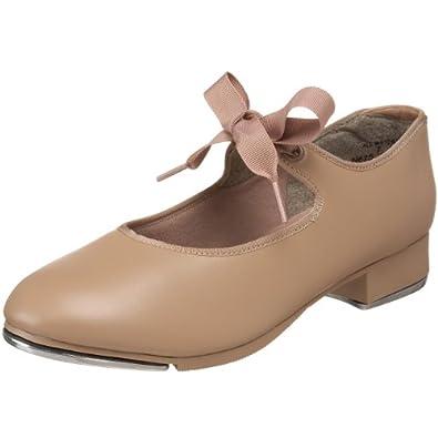 Capezio Women's N625 Jr. Tyette Tap Shoe,Caramel,3.5 M US
