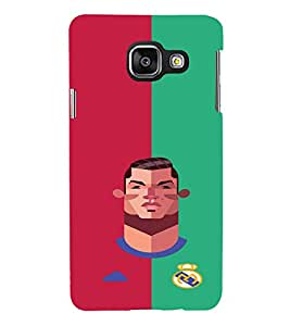 PRINTVISA Football Champion Madrid Case Cover for Samsung Galaxy A3 A310 (2016 Edition)