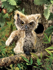 Screetch Owl Puppet from Folkmanis