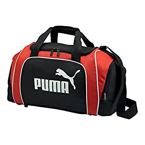PUMA Uni Sporttasche Team, black-puma red-white, UA, 29 liters, 068224 02