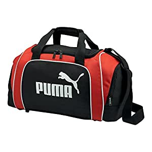 PUMA Uni Sporttasche Team, black-puma red-white, UA, 29 liters, 068224 02