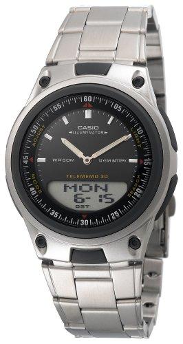 Casio Men's Ana-Digi AW80D-1AV 10-Year Battery Bracelet Watch