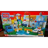 Mega Bloks 326 City Center Block Town 100 Pieces