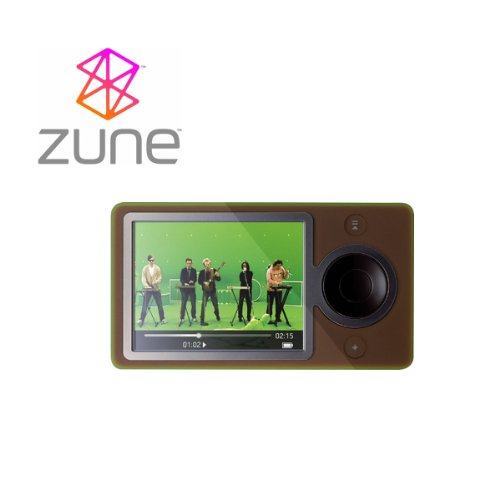 Microsoft Zune 40 GB Digital Media MP3 MP4 Player Brown upgraded from Zune 30GB