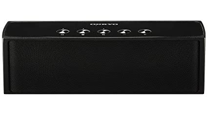 ONKYO SAS200(B)ポータブルワイヤレススピーカー Bluetooth(aptX)対応 ブラック