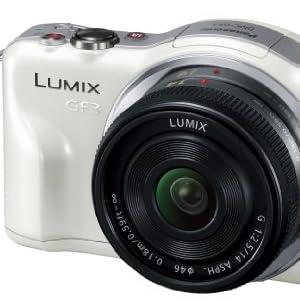 Panasonic デジタル一眼カメラ LUMIX GF3 ダブルズームキット シェルホワイト DMC-GF3W-W