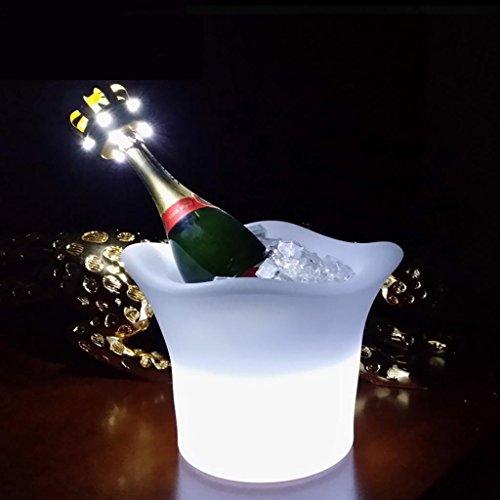 QINQIN LED barres lumineuses KTV imperméable à l'eau seau à glace créatif