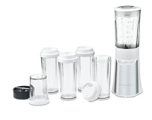 Cuisinart CPB-300W SmartPower 15 Piece Compact Portable Blending/Chopping System, White (300 Watt Blender compare prices)