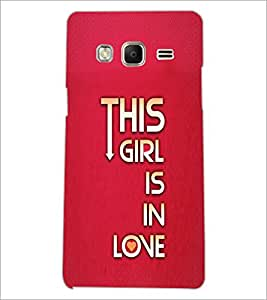 PrintDhaba Quote D-2955 Back Case Cover for SAMSUNG Z3 (Multi-Coloured)