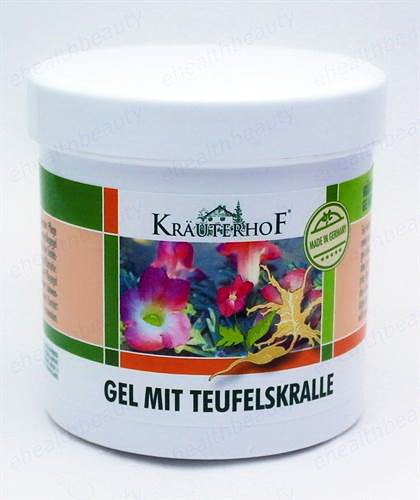 KrauterhoF Gel Devil's Claw and Eucalyptus Chronic Degeneratives in Joints 250ml ASAM-GERMANY (Devils Claw Gel compare prices)