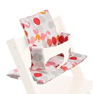 stokke tripp trapp cuscino cushion silhoette rosa amazon