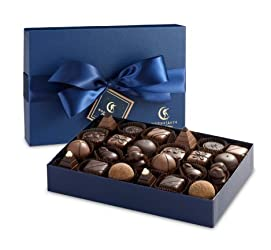Moonstruck Chocolate 24-Piece Chocolate Truffle Collection